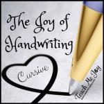 The Joy of Handwriting - Cursive