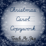 Christmas copywork2