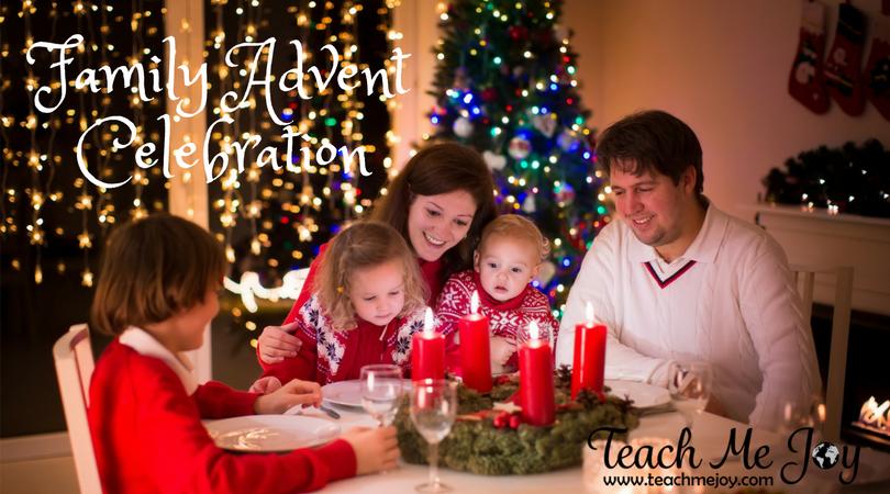 Family Advent Celebration! Week 4 & Christmas Eve - teachmejoy.com