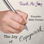Joy of Copywork Bible