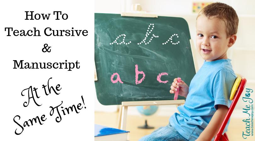 teaching handwriting